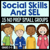 Social Skills Small Group Lessons For School Counseling - Distance Learning