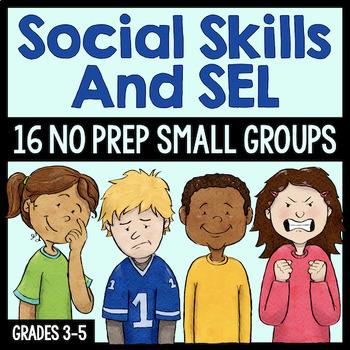 Social Skills Small Group Growing Bundle (Save 20%!)