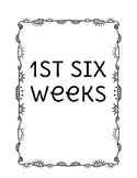 6 Weeks Labels