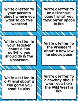 letter writing prompts Explore jennifer hout's board write~friendly letter on pinterest | see more ideas about teaching writing, teaching ideas and writing ideas.