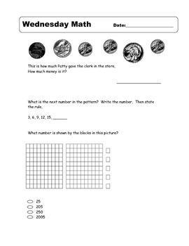 6 Weeks of Morning Math