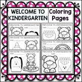 6 Welcome to Kindergarten Coloring pages
