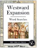 Westward Expansion Word Search Bundle Pack (Grades 3-5)