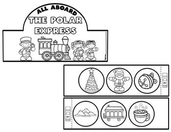 6 Winter Headband Bundle-Polar Express, Santa, Rudolph, Penguin, Polar Bear...