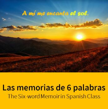 6-Word Memoir for Spanish Class