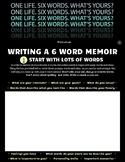 6 Word Memoirs - Student Handout & Google Slides