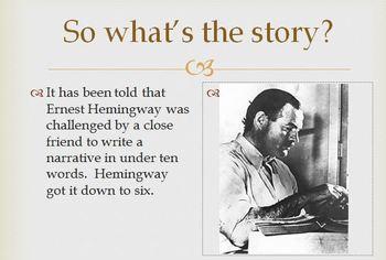 6 Word Narrative