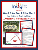 6 Writing Lessons using Word After Word After Word by P. MacLachlan