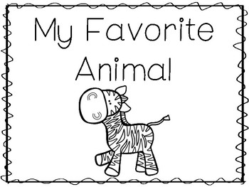 6 Zebra-My Favorite Animal Preschool Trace and Color Worksheets.