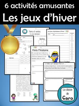 6 activités amusantes des jeux d'hiver (FRENCH - FSL) Winter Olympics