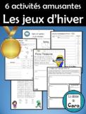 6 activités amusantes des jeux d'hiver (FRENCH - FSL) Wint