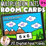 6's Multiplication Facts BOOM Cards | Digital Task Cards