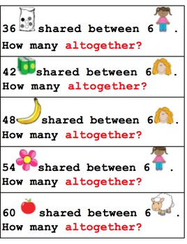 6's division number stories