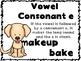 6 syllable type poster-dog theme