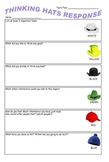 6 thinking hats metacognitive response