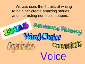 6-trait writing powerpoint assignment