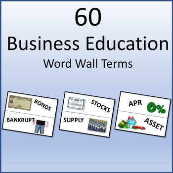 60 Business Education Word Wall Terms