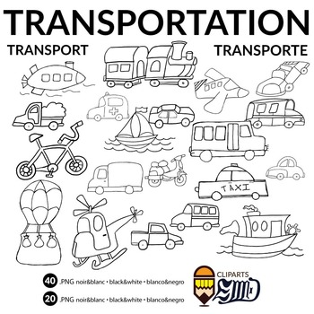 Moyens de transport - Medios de transporte - Transportation