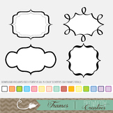 60 Colorful Frames {Personal and Commercial Use}