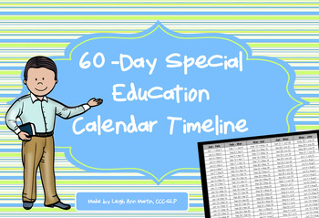60- Day Special Education Timeline
