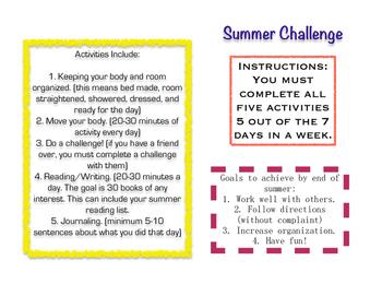 60 Day Summer Challenge