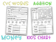 60 Days of Common Core Morning Work Part B: Kindergarten or 1st Grade
