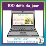 Défis du jour - French challenges of the day - Distance learning
