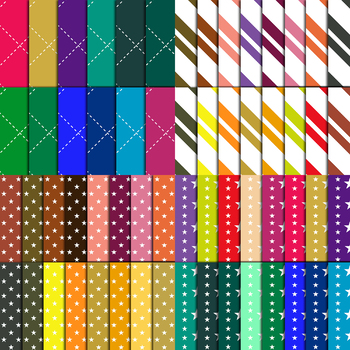 60 Digital Paper,Background in Different Colors