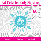60 Early Finishers Art Activities