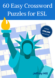 60 Easy Crossword Puzzles for ESL