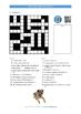 60 Easy Crossword Puzzles for ESL