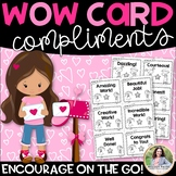 WOW Cards Compliments: Encourage Your Students Quickly & Easily!