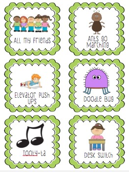 60 Energizing Brain Breaks for the Classroom