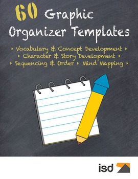 60 Graphic Organizer Templates K-6
