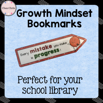 60 Growth Mindset Bookmarks