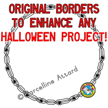 HALLOWEEN CLIPART BORDERS AND FRAMES