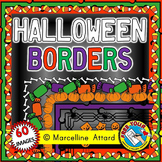 HALLOWEEN BORDERS AND FRAMES