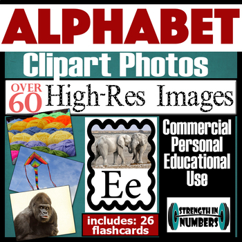 60+ High Resolution Photos Photographs Clip Art & ALPHABET cards