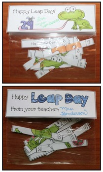 60 Leap Day Number Puzzles + A Writing Prompt & Gift