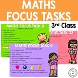 60 Math Focus Tasks for 3rd