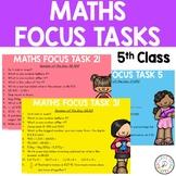 60 Maths Focus Tasks for 5th