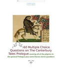The Canterbury Tales Prologue 60 Multiple Choice Questions Test Answer Key Inclu