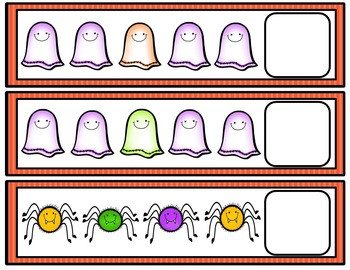 Halloween Math and Literacy Centers Bundle