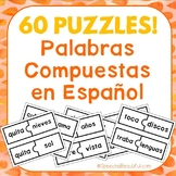 60 PUZZLES - Palabras Compuestas - Compound Words in Spani