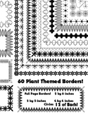 60 Plant Themed Borders