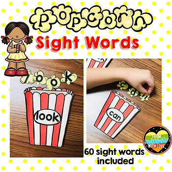 60 Popcorn Sight Words