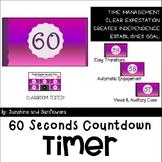 60 Second Purple Gradient Timer