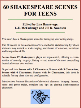 60 Shakespeare Scenes for Teens