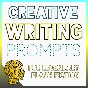 60 Task Cards for Legendary Creative Writing: Grades 3-6 (Growing Resource)