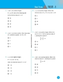 60 Test Questions with Answer Key/ Algebra Road to GT/Basi